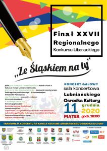 """Regulamin XXVII Regionalnego Konkursu Literackiego """"Ze Śląsk"""
