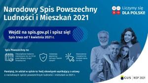 Plakat NSP na ekran RGB